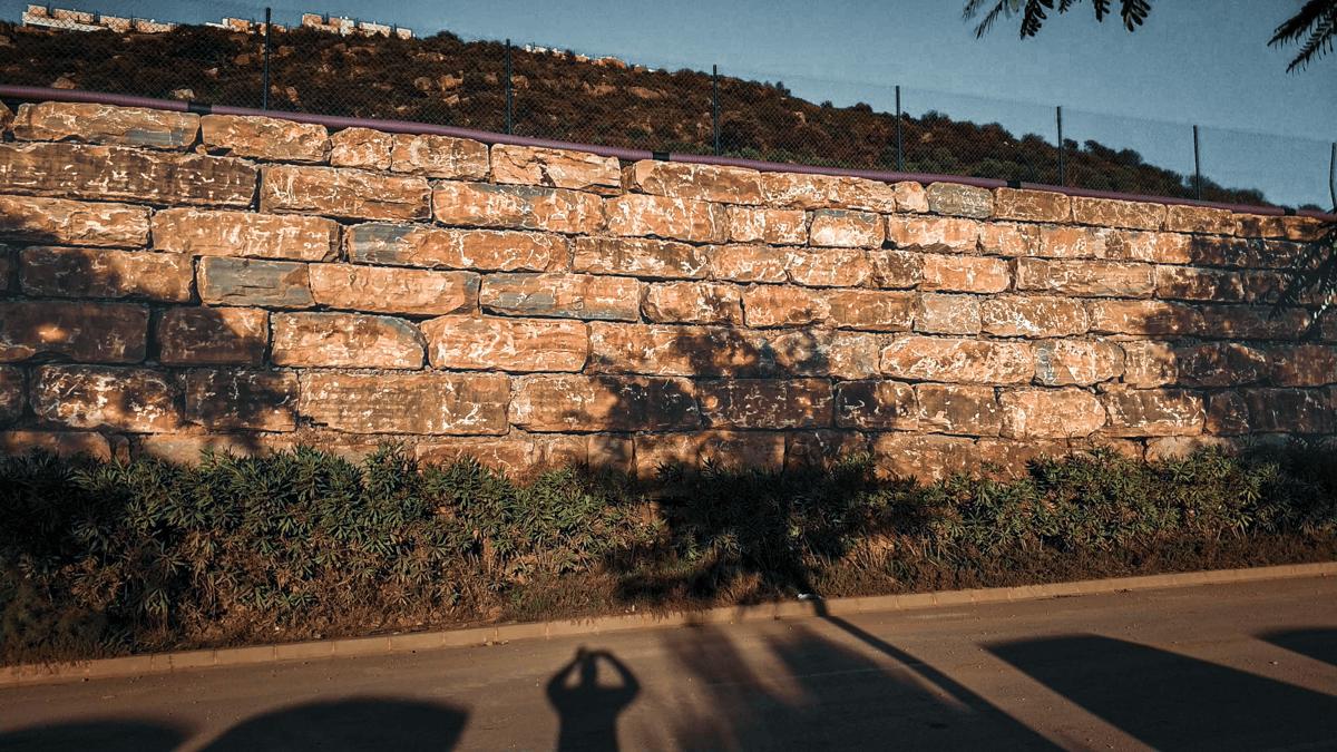 muro de escollera singlehome